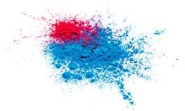 Ilustracja abstrakcjonistyczny kolorowy Szczęśliwy Holi tło dla koloru festiwalu India świętowanie fotografia stock