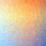 Ilustracja abstrakcjonistyczny pomarańcze, koloru żółtego I rewolucjonistki impresjonista Pointlilism, Obciosuje tło ilustracja wektor