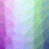 Ilustracja abstrakcjonistyczny purpur I zieleni impresjonista Pointlilism Obciosuje tło royalty ilustracja