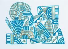 ilustracja abstrakcyjna Obrazy Royalty Free