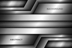 ilustracja abstrakcyjna metalowe tło Fotografia Stock