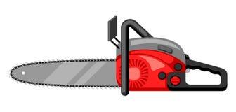 Ilustracja benzyna zobaczył na białym tle odizolowywającym Zdjęcia Stock