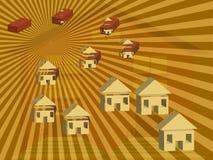 ilustracja cegły domowa ilustracji
