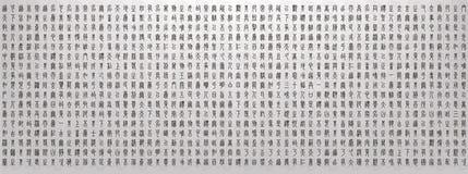 Ilustracja Chińskich charakterów tło royalty ilustracja