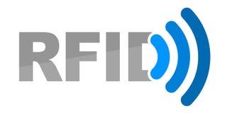 Ilustracja dla RFID technologii royalty ilustracja