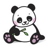 Ilustracja dziecko panda Zdjęcie Stock