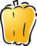 ilustracja dzwonkowy pieprz Fotografia Royalty Free