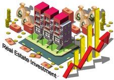 Ilustracja ewidencyjny graficzny nieruchomości inwestyci pojęcie Zdjęcia Royalty Free