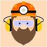 Ilustracja górnicy ilustracja wektor