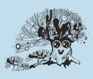 Ilustracja galanteryjny drzewo Obrazy Stock