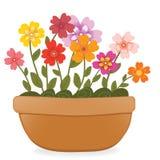 Kwiatu garnek ilustracji