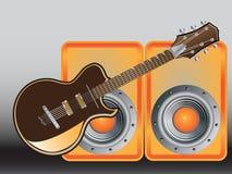 Ilustracja gitara Zdjęcie Royalty Free
