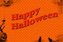 ilustracja halloween. Zdjęcia Royalty Free
