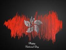 Ilustracja Hongkong święta państwowego tło Fotografia Stock