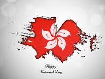 Ilustracja Hongkong święta państwowego tło Fotografia Royalty Free