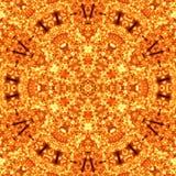 Ilustracja jaskrawy ognisty płomień Zdjęcie Royalty Free