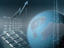 ilustracja jednostek gospodarczych Zdjęcia Stock