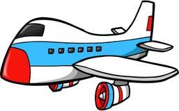 ilustracja jumbo jet wektora Zdjęcia Stock