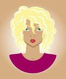 Ilustracja kobieta Zdjęcie Stock