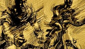 Ilustracja kolarstwo sporta tła grafika Zdjęcie Royalty Free