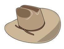 ilustracja kowbojski kapelusz