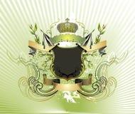 ilustracja królewska crest obraz stock
