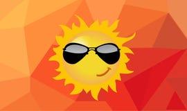 Ilustracja kreskówki słońce Zdjęcie Royalty Free