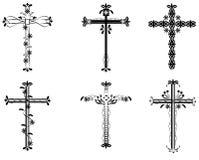 ilustracja krzyżowa Zdjęcie Stock