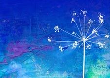 ilustracja kwiat Fotografia Royalty Free