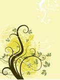 ilustracja kwiecista abstrakcyjna Fotografia Royalty Free