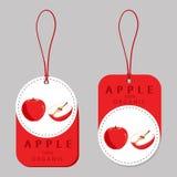 Ilustracja logo dla Apple Zdjęcia Royalty Free
