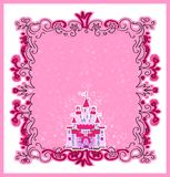 Ilustracja Magiczny bajki Princess Roszujący Obrazy Stock