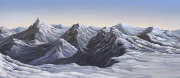Ilustracja mieć wielkie góry Zdjęcie Royalty Free