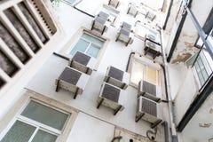 ilustracja mieszkaniowy domowy wektor Zdjęcia Royalty Free