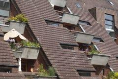 ilustracja mieszkaniowy domowy wektor Obraz Stock