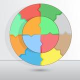 Ilustracja może używać dla sukcesu biznesu diagrama Obrazy Royalty Free