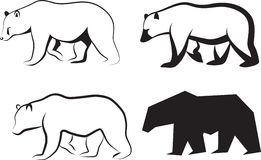 ilustracja niedźwiadkowy wektor Zdjęcia Royalty Free