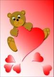 ilustracja niedźwiedzi Zdjęcia Royalty Free