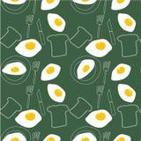 Ilustracja - omelette wzór ilustracji