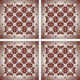 Ilustracja ornamentu geometrii Abstrakcjonistyczny styl Obrazy Royalty Free