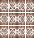 Ilustracja ornamentu geometrii Abstrakcjonistyczny styl Fotografia Royalty Free