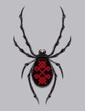 Ilustracja pająk Zdjęcia Stock