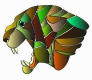 Ilustracja pantera Zdjęcie Stock