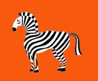 Ilustracja piękna zebra Obraz Stock