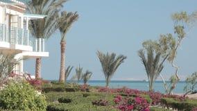 ilustracja plażowy hotelowy wektor zbiory
