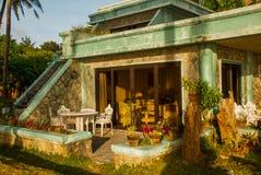 ilustracja plażowy hotelowy wektor Filipiny, Boracay Fotografia Royalty Free
