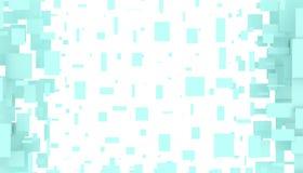 Ilustracja poruszający prostokąty ilustracji