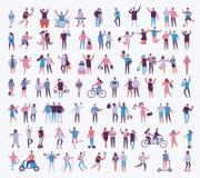 Ilustracja różni aktywność ludzie Zdjęcia Stock