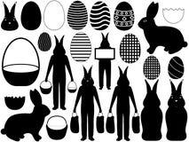 Wielkanocni elementy Obrazy Stock