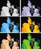 ilustracja rockstar Fotografia Stock